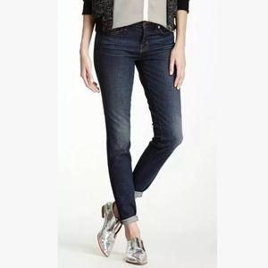 J Brand skinny leg dark wash jeans size 26